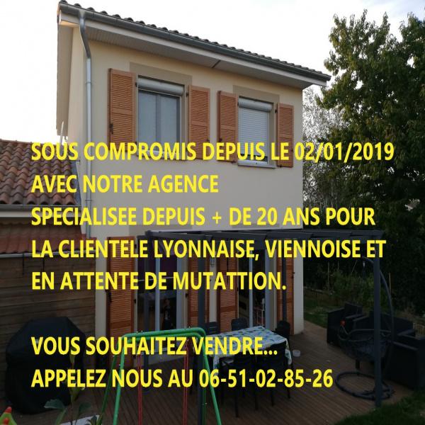 Offres de vente Villa Chasse-sur-Rhône 38670